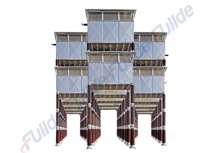 Tower Harmonic Filter Resistor , Steel Electrical Substation Transformer