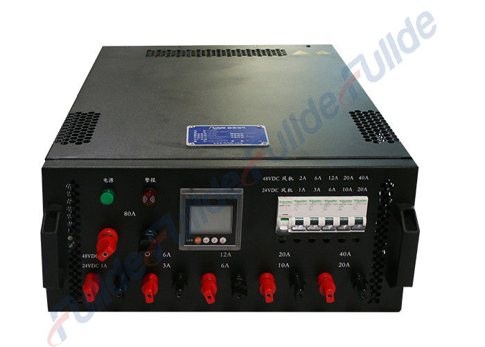 Single phase Generator Load Bank ,  6KW 220VAC Rack Mounted Dummy Load Bank for Data Center